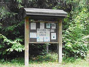 Holt's Grove Informational Kiosk