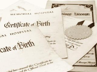 Vital Records (Birth, Marriage, Death)